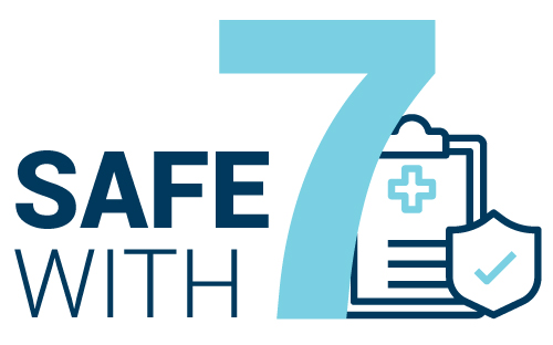 safe with 7 logo